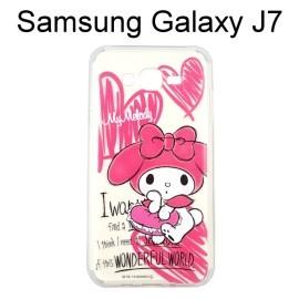 美樂蒂透明軟殼 [手繪] Samsung J700F Galaxy J7【三麗鷗正版授權】