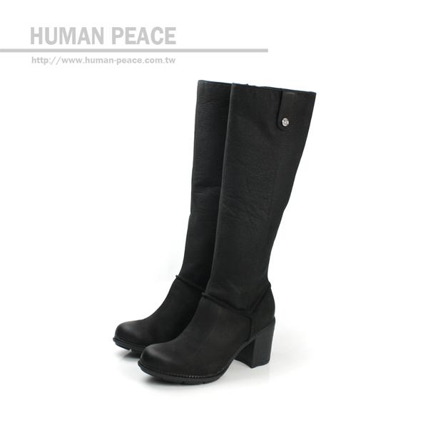 Clarks Merrigan Akita 皮革 柔軟 舒適 長靴 戶外休閒鞋 黑 女款 no648