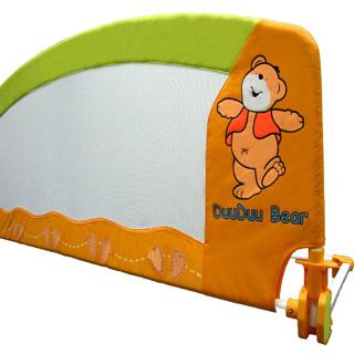 【美國 L.A. Baby】嬰兒安全床邊護欄/床圍(加寬加高型 150x54cm)
