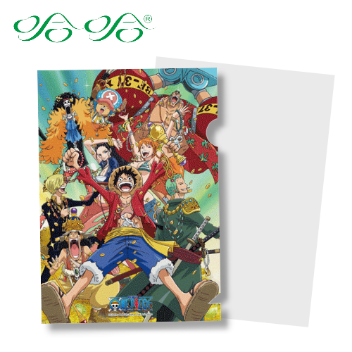 哈哈書套 LF-014 日本動漫 航海王 正版授權 海賊王 L型文件夾 (L夾- 寶藏版 )