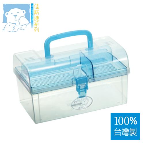 JUSKU佳斯捷 8679 中糖果陽光手提收納箱(M) 【100%台灣製造】