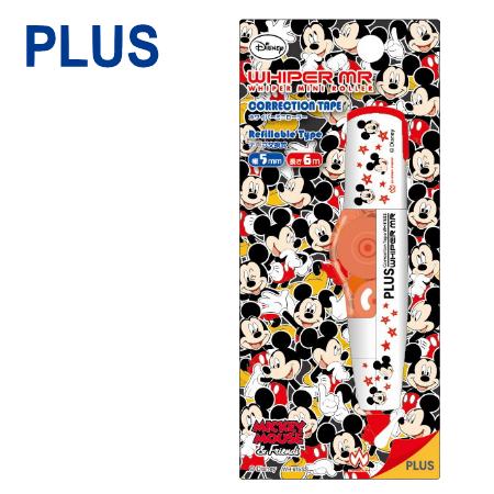 【迪士尼限定版】PLUS 普樂士 WH-605 智慧型滾輪修正帶 ( 5mm x 6M ) 【米奇 Mickey】