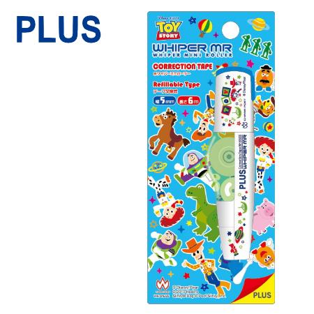 【迪士尼限定版】PLUS 普樂士 WH-605 智慧型滾輪修正帶 ( 5mm x 6M ) 【玩具總動員 Toy Story】
