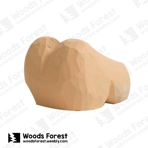 木雕森林 Woods Forest - 木雕筆專用單孔筆座【屁股】( 造型可愛;小巧不佔空間!)