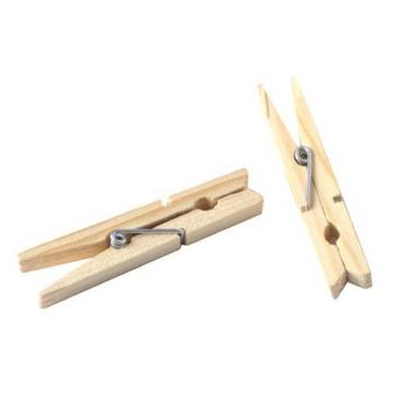 木夾 木衣夾 曬衣夾 ( 長7cm / 寬1cm ) - 15支/包