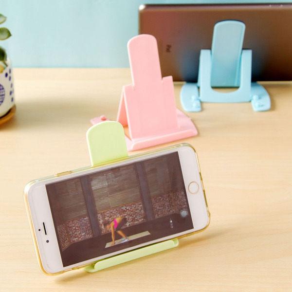 PS Mall 卡片式手機支架 可折疊 手機座 手機架【J307】