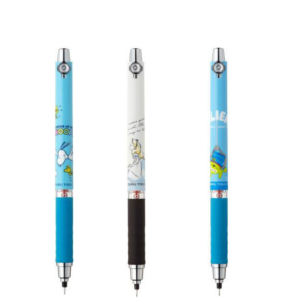 UNI 三菱 KURU TOGA 旋轉自動鉛筆軟膠握桿2016年日本11月限定款0.5