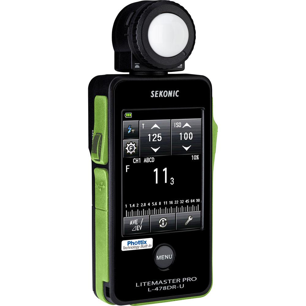 ◎相機專家◎ SEKONIC L-478DR for Phottix 觸控式測光表 電影 攝影 L478DR 華曜公司貨