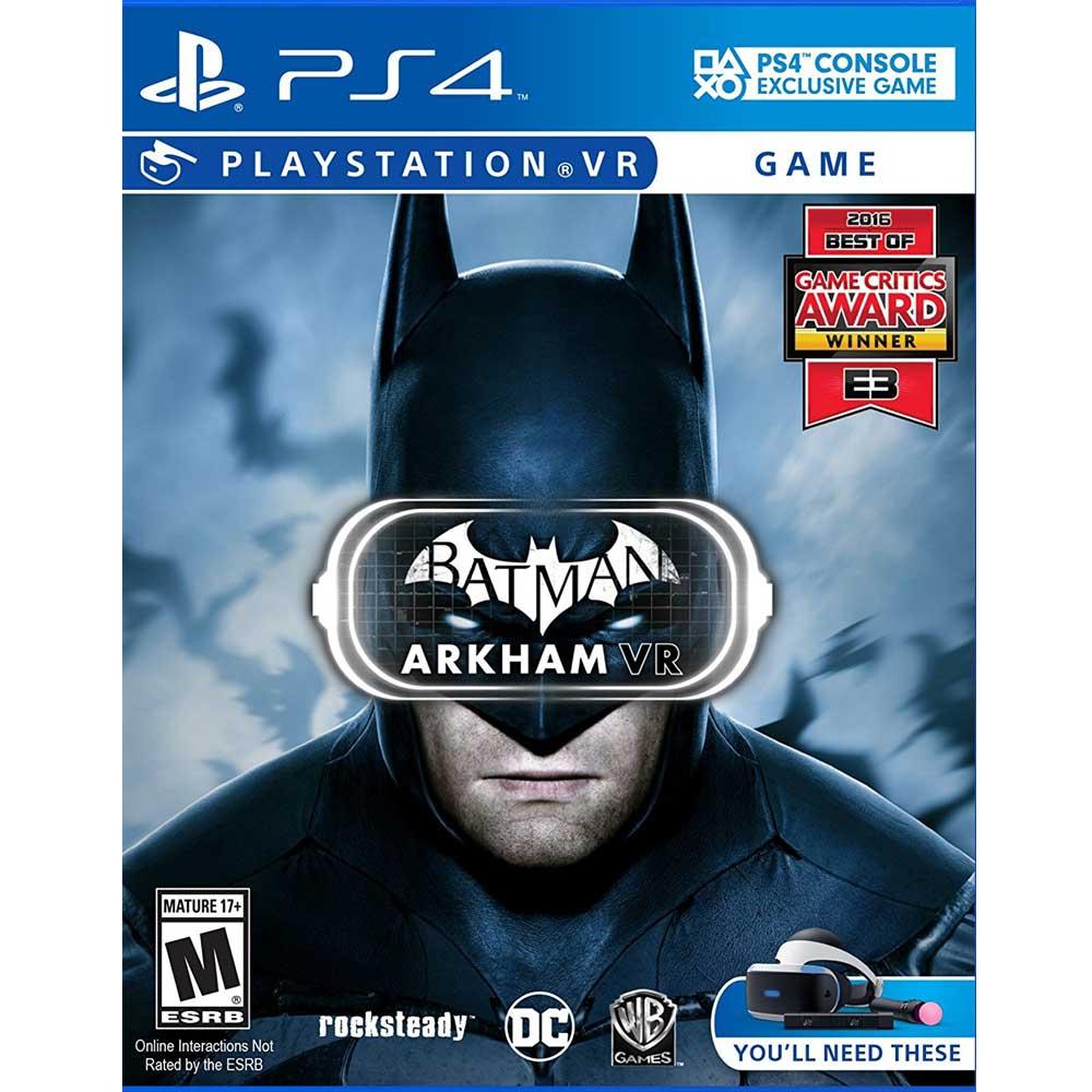 PS4 VR 蝙蝠俠 阿卡漢 VR 英文美版 Batman: Arkham VR