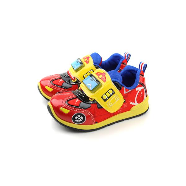 TOMICA 運動鞋 童鞋 紅色 中童 no637