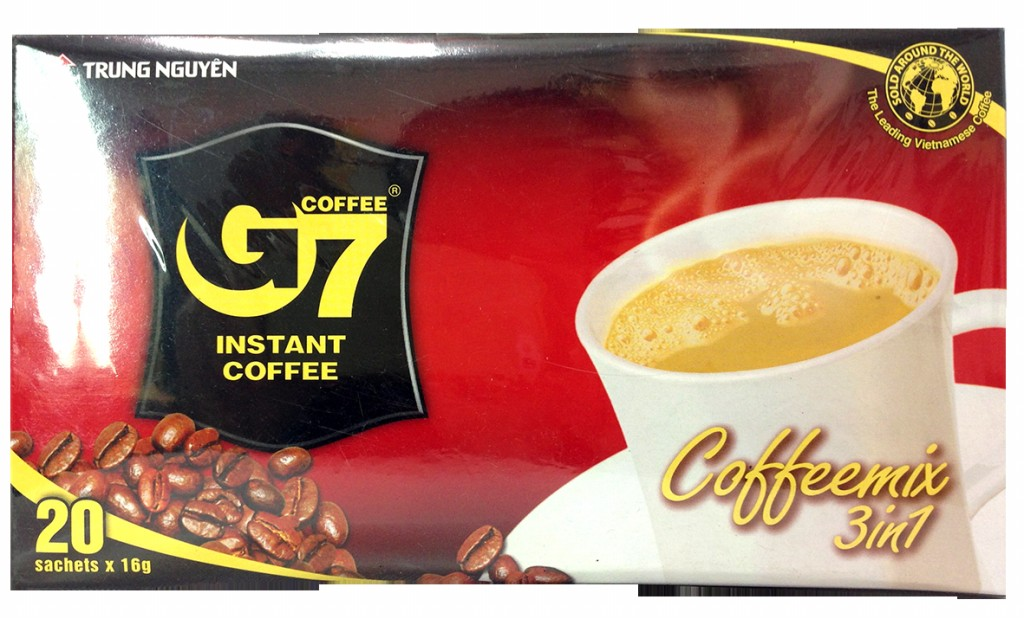奶素-G7三合一即溶咖啡(扁盒裝)★優惠↘