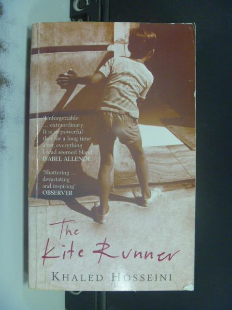 【書寶二手書T7/原文小說_OPH】Kite Runner 追風箏的孩子_Hosseini, Khaled