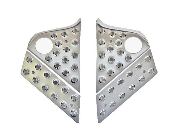 DDX 勁戰 新勁戰 三代勁戰125 鋁合金前(後)腳踏板