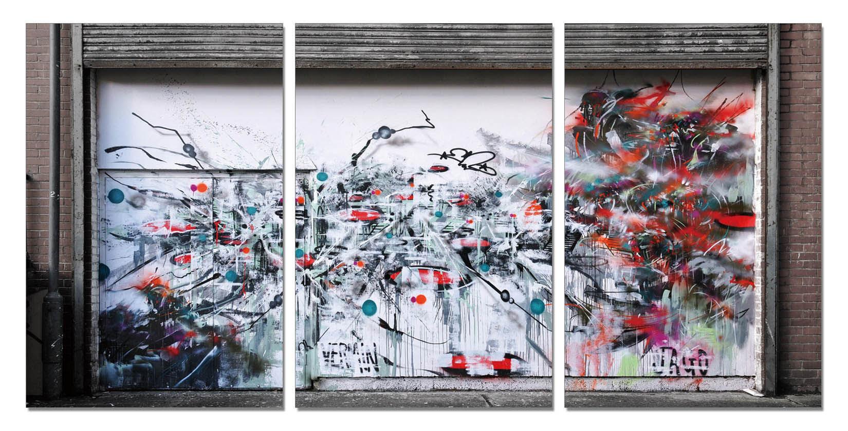 聚鯨Cetacea﹡Art【街頭塗鴉藝術TC-1568ABC印製畫】無框畫 裝飾掛畫 商業空間 居家裝飾 客廳 寢室