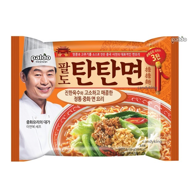 Paldo八道 擔擔麵 內銷版 名廚 李連福 推薦
