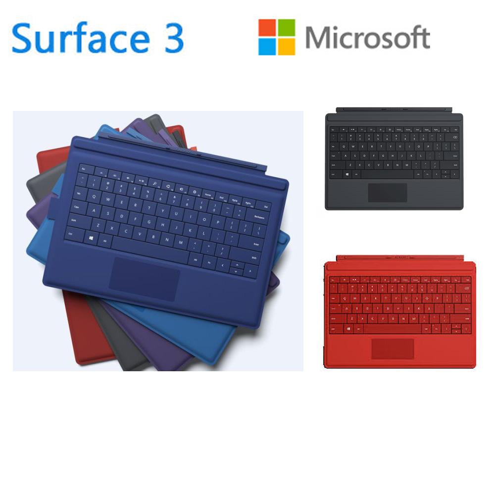 微軟 Microsoft Surface 3 實體鍵盤 顏色:晶亮紅、神秘黑  數量有限:請先詢問貨源