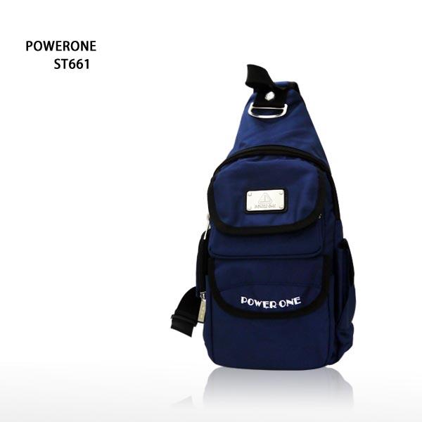 【加賀皮件】POWERONE 多色 防潑水 潮流包 斜背包 側背包 單肩包 ST661
