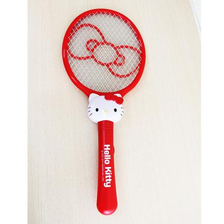 [敵富朗超市]HELLO  KITTY電蚊拍