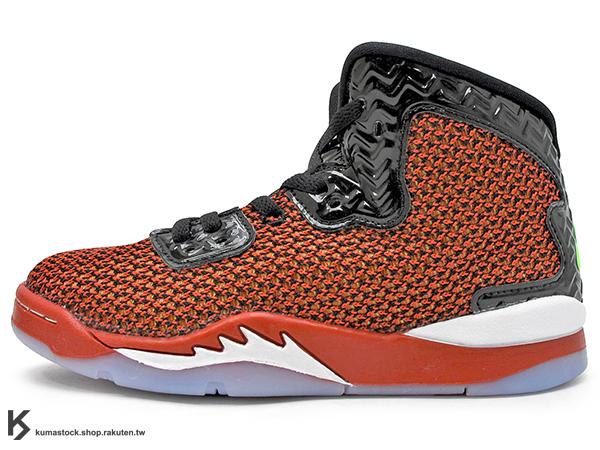 2016 台灣未發售 全新設計 AJ 5 創意改良 NIKE JORDAN SPIKE FORTY BP PS UNIVERSITY RED 小童鞋 童鞋 紅黑 導演 AJ LEE (807544-605) !