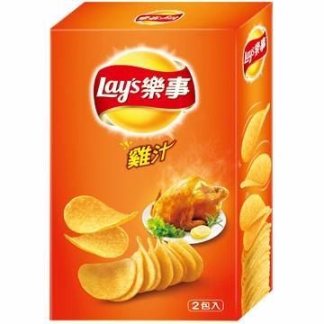 Lay's 樂事經濟盒 - 雞汁 (160g/盒)【合迷雅好物商城】