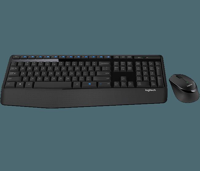 【迪特軍3C】Logitech 羅技 公司貨 無線滑鼠鍵盤組 MK345 超長電池壽命 滑鼠鍵盤組