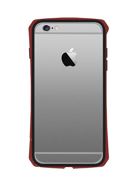 SEIDIO TETRA™ 極簡金屬吸震保護框 for Apple iPhone 6 Plus 5.5 - 紅