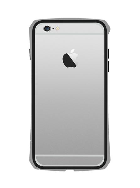 SEIDIO TETRA™ 極簡金屬吸震保護框 for Apple iPhone 6 Plus 5.5 - 銀