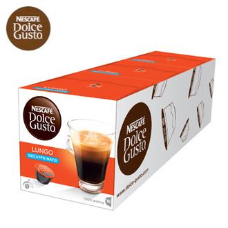 雀巢 新型膠囊咖啡機專用 低咖啡因美式濃黑咖啡膠囊 (一條三盒入) 料號 12226401 ★買九送一(共十盒) 暢銷優惠至2016/12/31止