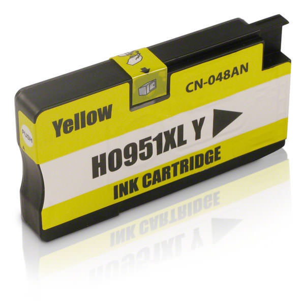 HP CN048AA No.951XL(黃色)相容高容量墨水匣 /適用機型:HP OFFICEJET 8100/8600