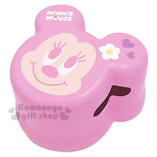 〔小禮堂〕迪士尼 米妮 日製兒童造型浴室椅《小.粉.大臉.愛心.花朵.簍空》衛浴專用