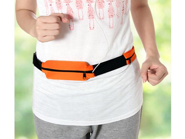 BO雜貨【SV6259】旅行戶外運動跑步腰帶包 便攜透氣貼身防盜腰包 運動腰包