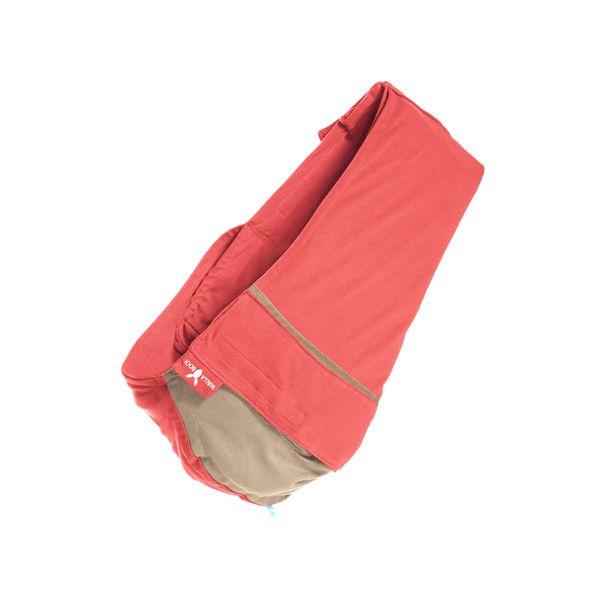 【安琪兒】荷蘭【wallaboo】酷媽袋鼠背巾 - 雙色系(紅/駝)-預購12月中到