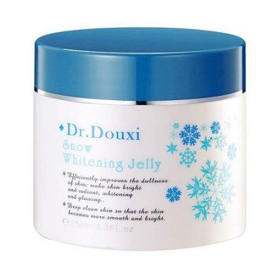 DR. DOUXI 朵璽 雪晶靈 水嫩白肌凍膜 250ml ☆真愛香水★ 另有 微晶淨化去角質凝膠