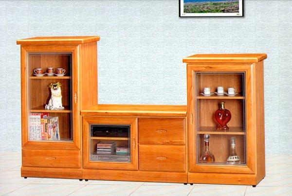 【尚品家具】614-44 赤楊色半實木3尺電視櫃矮櫃/中低櫃~另有胡桃.樟木色
