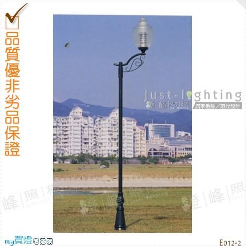 【景觀立燈】E27 單燈。鍍鋅鋼管焊接 高338cm※【燈峰照極my買燈】#E012-2