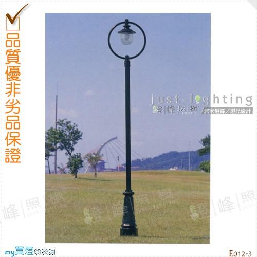 【景觀立燈】E27 單燈。鍍鋅鋼管焊接 高335cm※【燈峰照極my買燈】#E012-3
