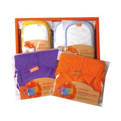 【悅兒樂婦幼用品舘】COTEX 可透舒 DB500型環保尿布禮盒組(環保尿布x2 + 標準吸尿墊x4 + 加厚吸尿墊x4)