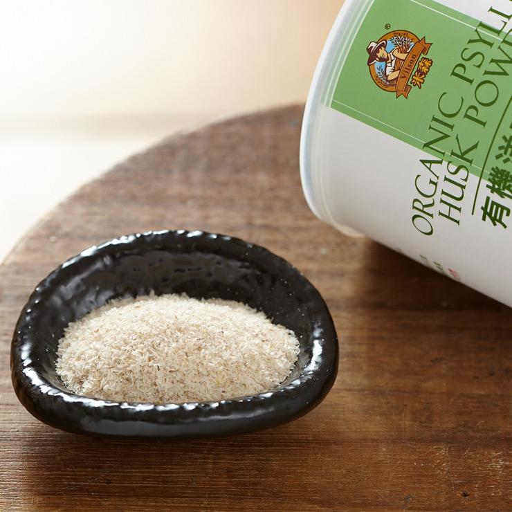 【米森】有機洋車前子穀粉(180g)★豐富膳食纖維增加飽足感★促進腸道蠕動