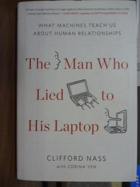 【書寶二手書T4/原文書_PDB】The Man Who Lied to His Laptop