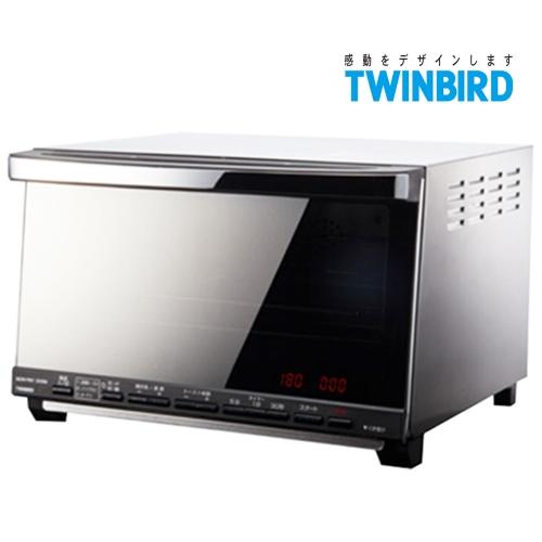 日本 TWINBIRD 雙鳥 油切氣炸烤箱 TS-D067TW + 便當盒