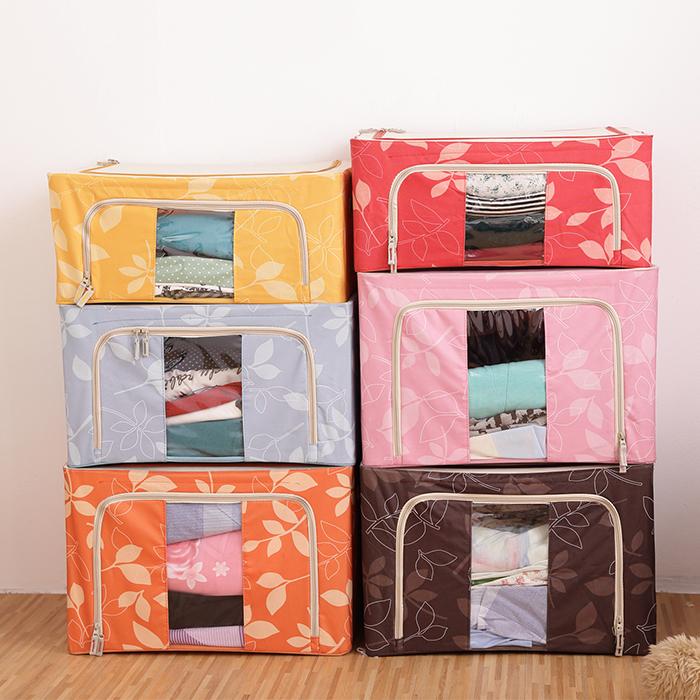 收納箱100L 整理箱 玩具箱 收納櫃 置物箱  摺疊收納盒【YV3772】快樂生活網