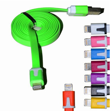 iPhone5 / iPad mini / iPad4 雙色充電傳輸線