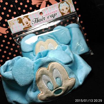 米奇  迪士尼  可愛造型束髮帶