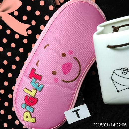 迪士尼系列--眼罩   粉紅小豬