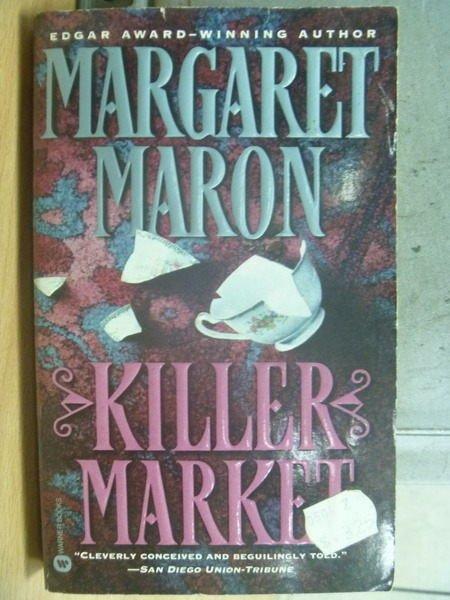 【書寶二手書T5/原文小說_MSC】Killer Market_Margaret Maron