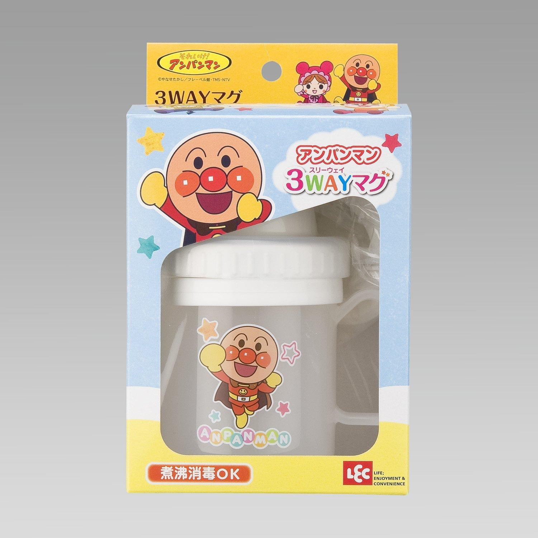 **雙子俏媽咪親子館**  [日本]  麵包超人 Anpanman   學習杯/ 吸管水杯/杯子 三用途 兒童水壺