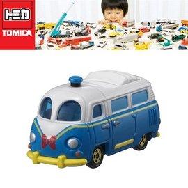 【日本TOMICA迪士尼小汽車】DM-08 夢幻唐老鴨巴士(DS45419)