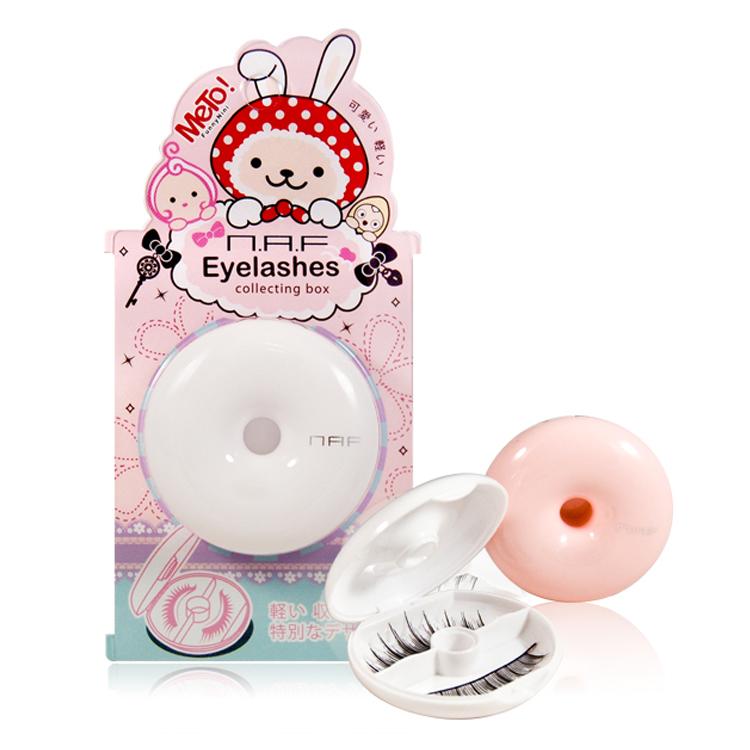 【NAF】METO甜甜圈假睫毛收納盒(香草白)