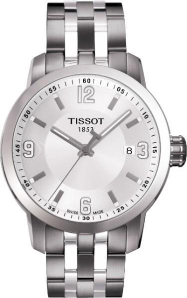 TISSOT天梭T0554101101700 PRC200石英經典腕錶/白面39mm