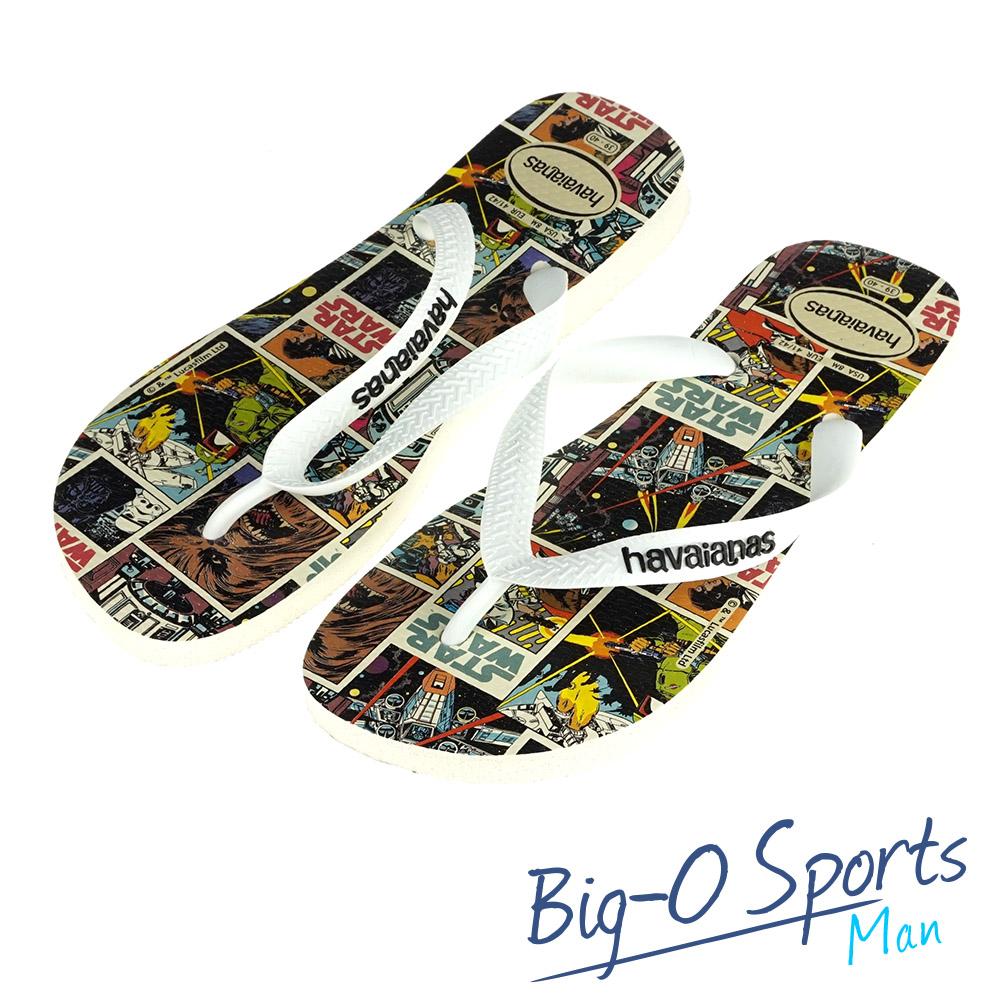 Havaianas 哈瓦仕  巴西拖  沙灘拖鞋 男 HF6M5185W1 Big-O SPORTS